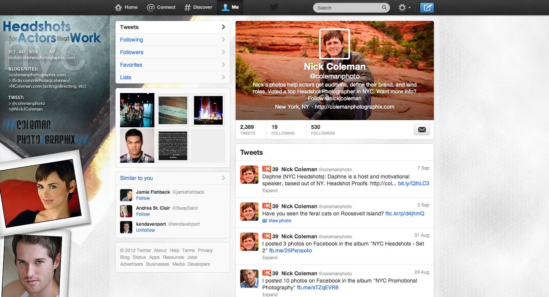 How To Create A Custom Twitter Header Image Nyc Headshots By