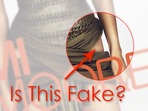 Demi Moore W Cover (Closeup)