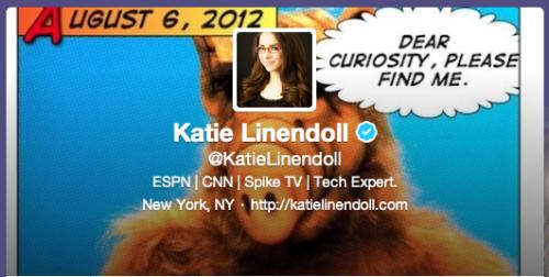 Katie Linendoll Custom Twitter Image